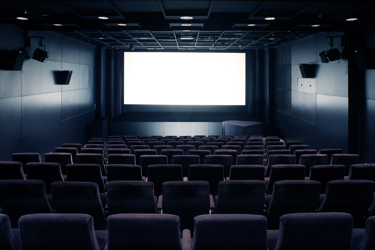 The cinema has 142 seats built in a style once called studio kino